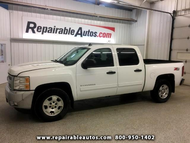 2013 Chevrolet Silverado 1500 Z71 Crew Cab 4WD Repaired Interior Burn