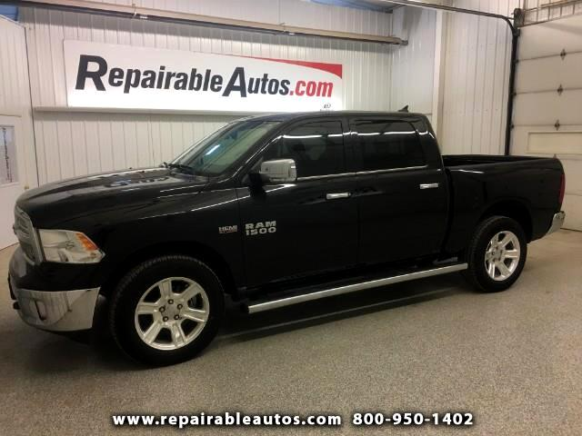 2017 RAM 1500 4WD Lonestar Repaired Rear Damage