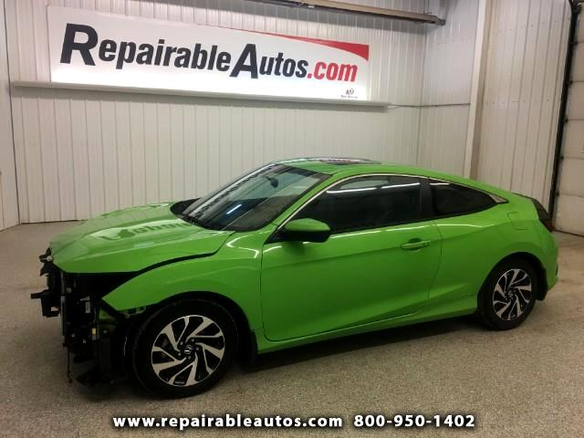 2016 Honda Civic Repairable Front Damage