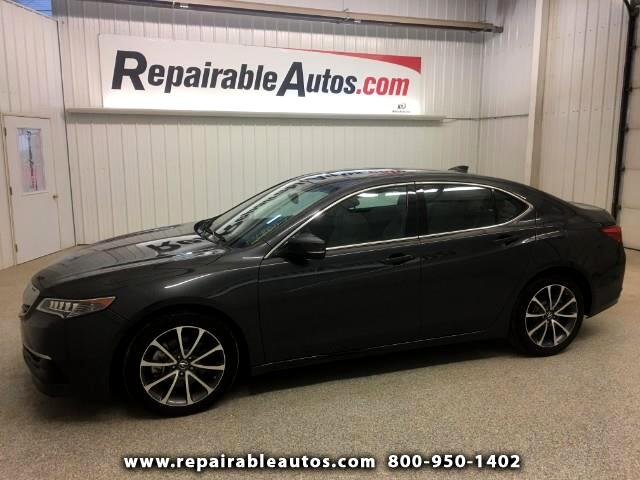 2016 Acura TLX Repairable Water Damage