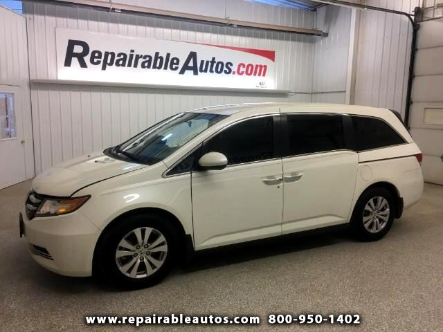 2016 Honda Odyssey Repairable Right Side Damage