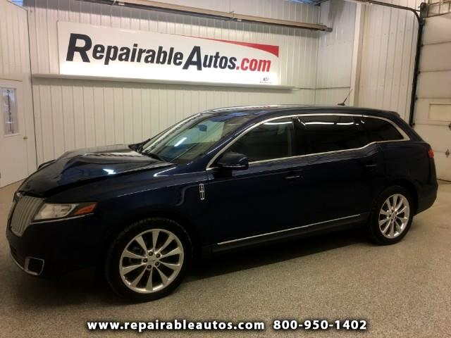 2012 Lincoln MKT AWD Repairable Front Damage