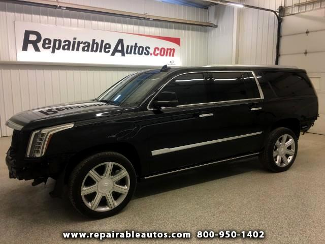 2017 Cadillac Escalade ESV 4WD Repairable Rear Damage