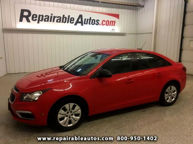 2016 Chevrolet Cruze Limited Repairable Water/Rear Damage