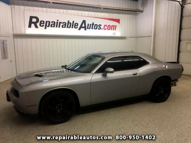2015 Dodge Challenger Repairable Rear Damage