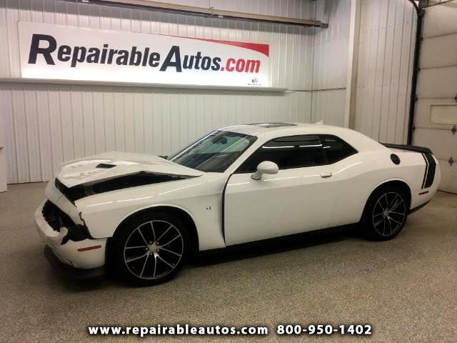 2015 Dodge Challenger SRT Repairable Front Damage