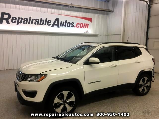 2018 Jeep Compass LATITUDE 4WD -Repairable Rear Damage
