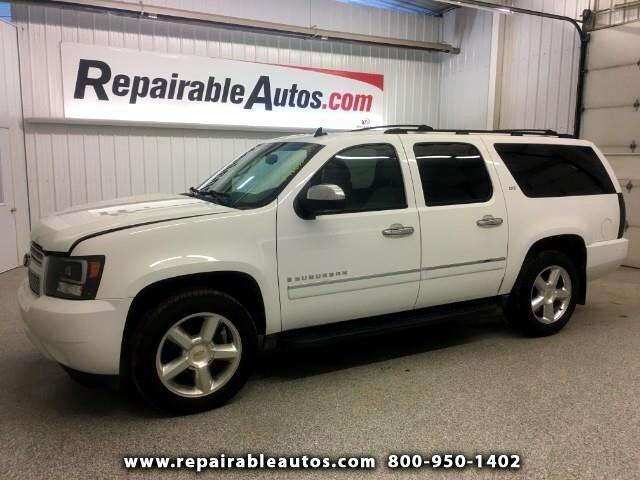 2009 Chevrolet Suburban LTZ 4WD Repairable Interior Burn Damage