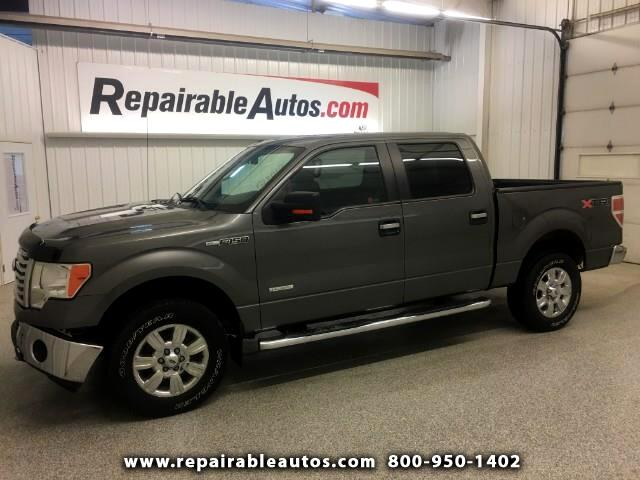 2011 Ford F-150 4WD Repairable Front & Rear Damage