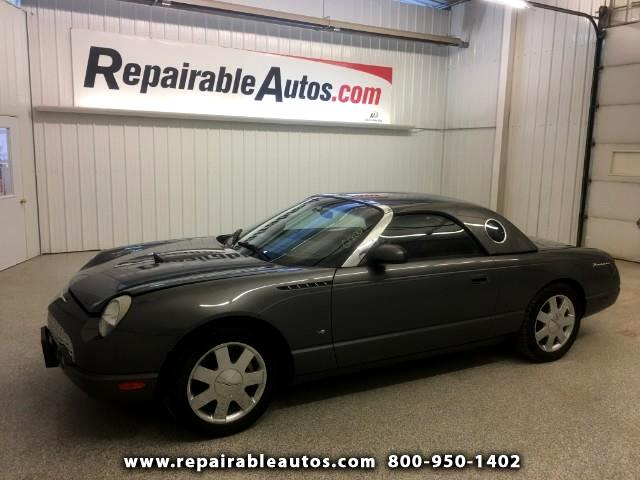 2003 Ford Thunderbird Repairable Rear Damage