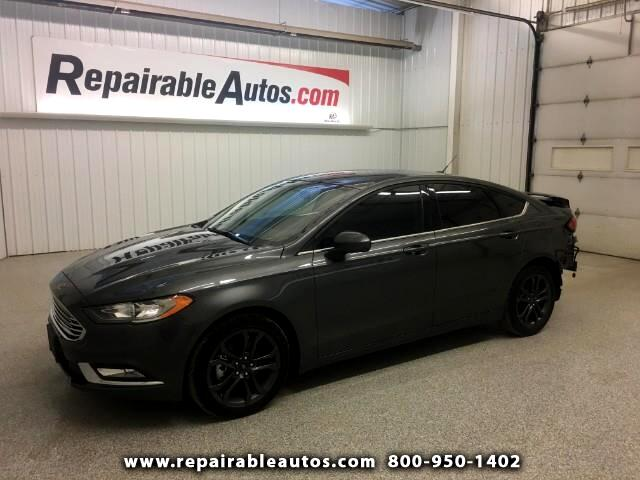 2018 Ford Fusion SE Repairable Rear Damage