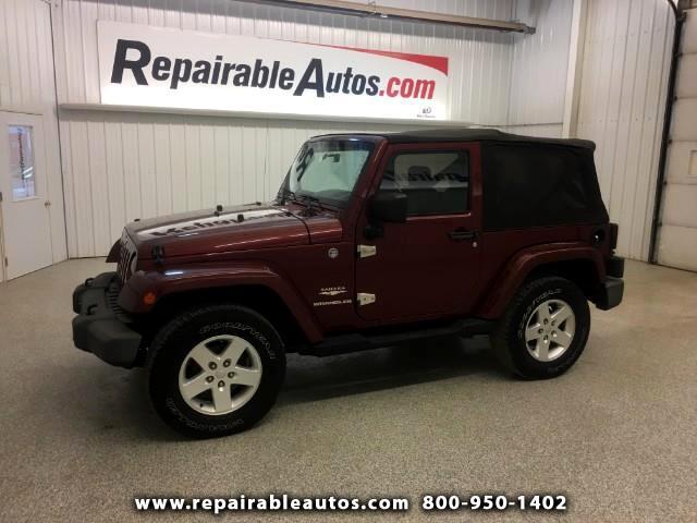 2007 Jeep Wrangler Sahara Repairable Rear Damage