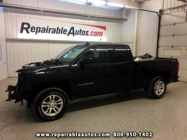 2015 Chevrolet Silverado 1500 Quad Cab 4WD Repairable Front Damage