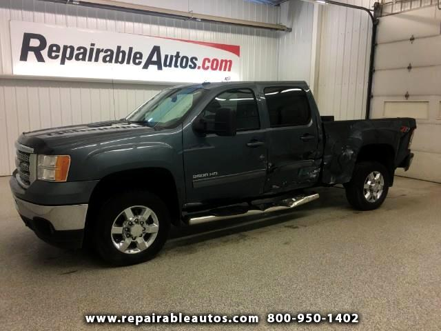 2013 GMC Sierra 3500HD Crew Cab 4WD Repairable Rear Damage