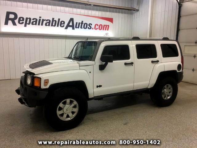 2009 HUMMER H3 4x4 Repairable Front Damage