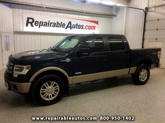 2014 Ford F-150 King Ranch 4WD Repairable Rear Damage