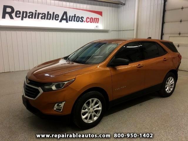Used 2018 Chevrolet Equinox FWD Repairable Rear Damage for ...