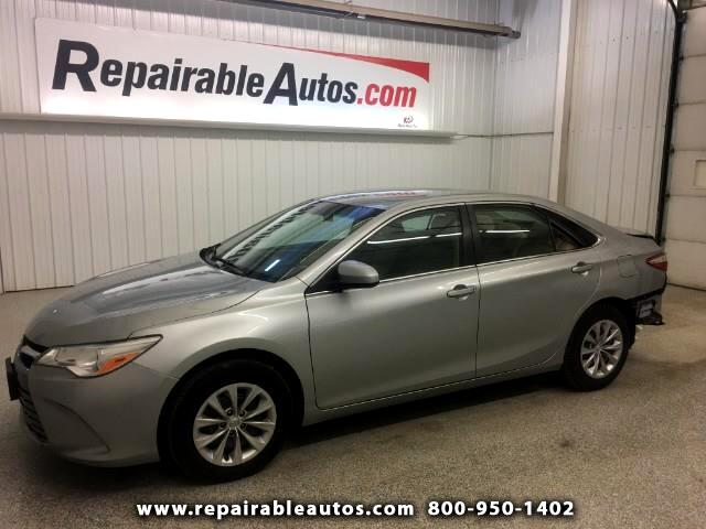 2016 Toyota Camry LE Repairable Rear Damage