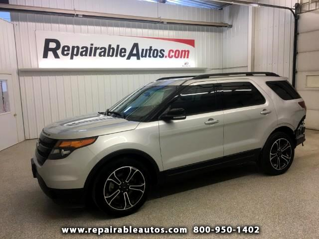 2015 Ford Explorer Sport AWD Repairable Rear Damage