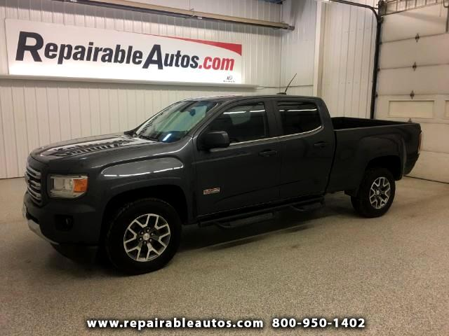 2016 GMC Canyon 4WD ALL TERRAIN Repairable Rear Daamge