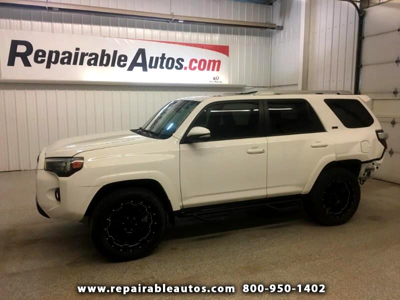 2017 Toyota 4Runner 4WD Repairable Rear Damage
