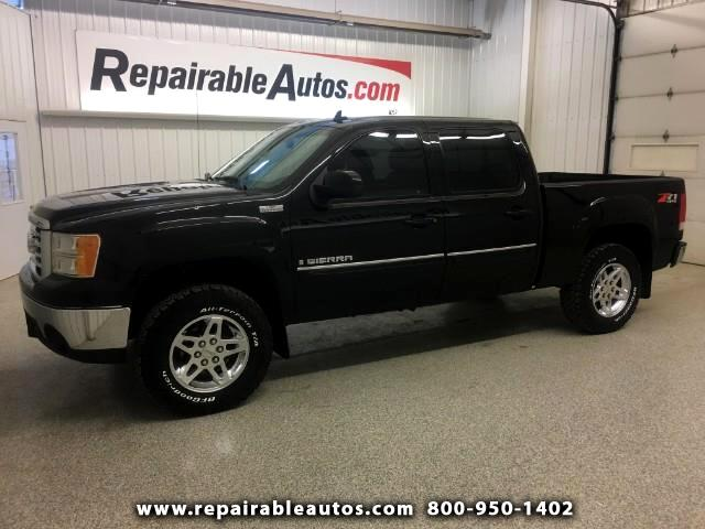 2008 GMC Sierra 1500 SLT 4WD Crew Cab Local Trade Previous Water Damage