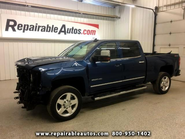 2017 Chevrolet Silverado 2500HD LTZ 4WD Repairable Front Damage