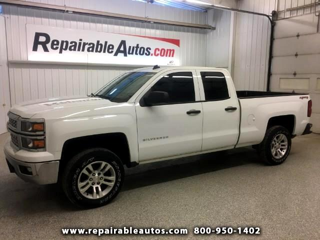 2014 Chevrolet Silverado 1500 4WD Repairable Rear Damage