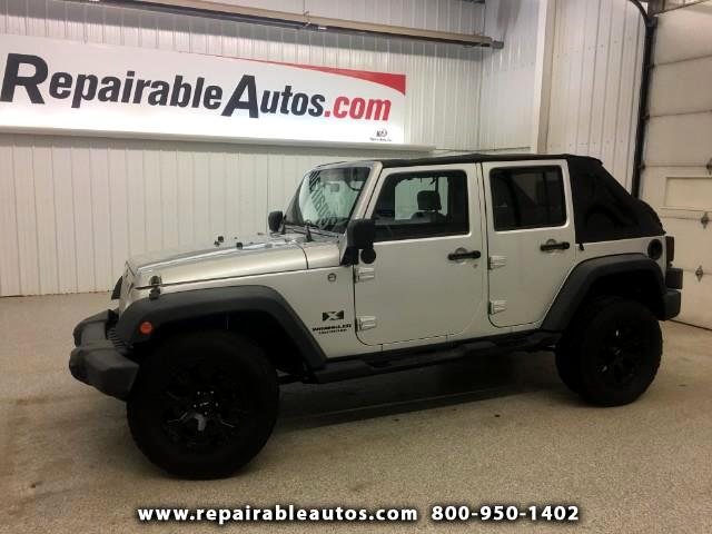 2009 Jeep Wrangler Unlimited X 4WD Repairable Front Damage