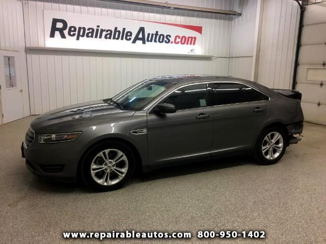2014 Ford Taurus SEL FWD Repairable Rear Damage