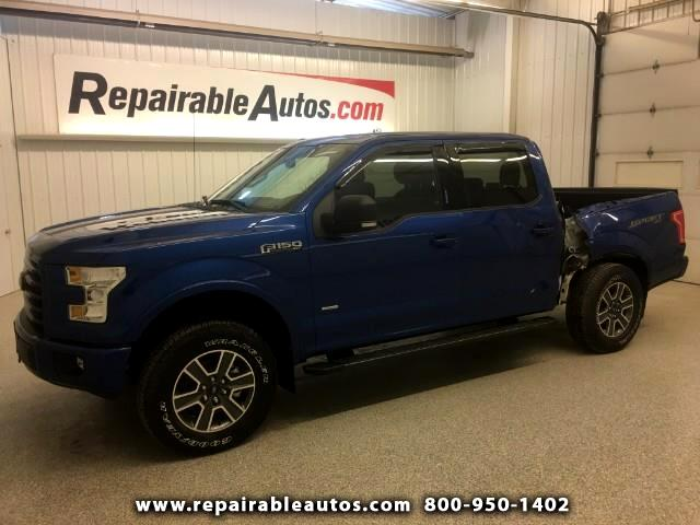 2017 Ford F-150 Sport XLT Repairable Side Damage