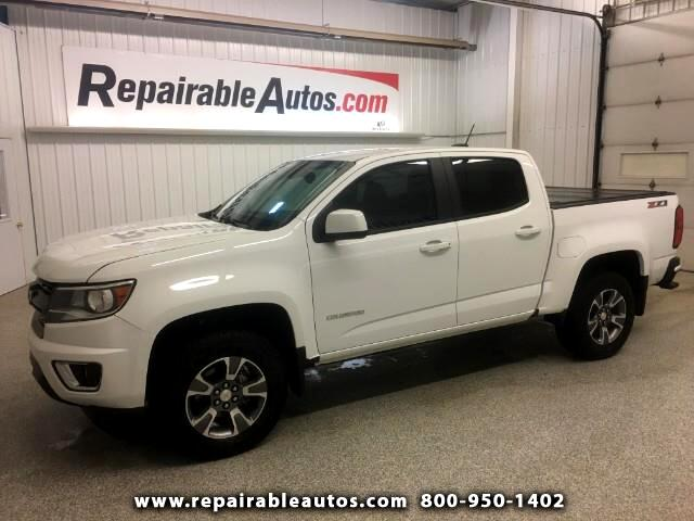 2017 Chevrolet Colorado Z71 Repaired Rear Damage