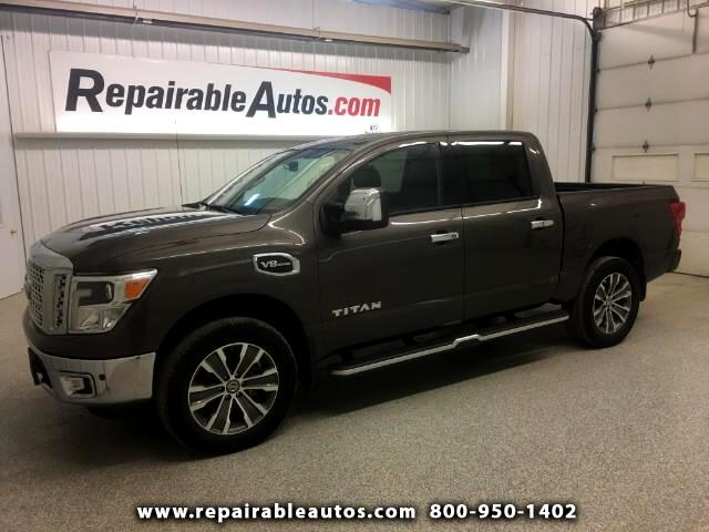 2017 Nissan Titan SL 4WD Repairable Side Damage