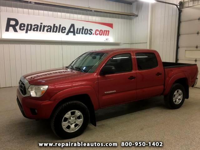 2013 Toyota Tacoma 2WD Repairable Rear Damage