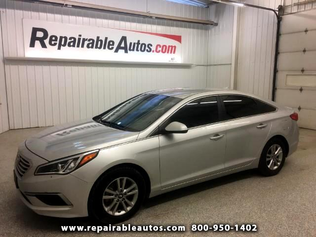 2017 Hyundai Sonata Repairable Theft Damage