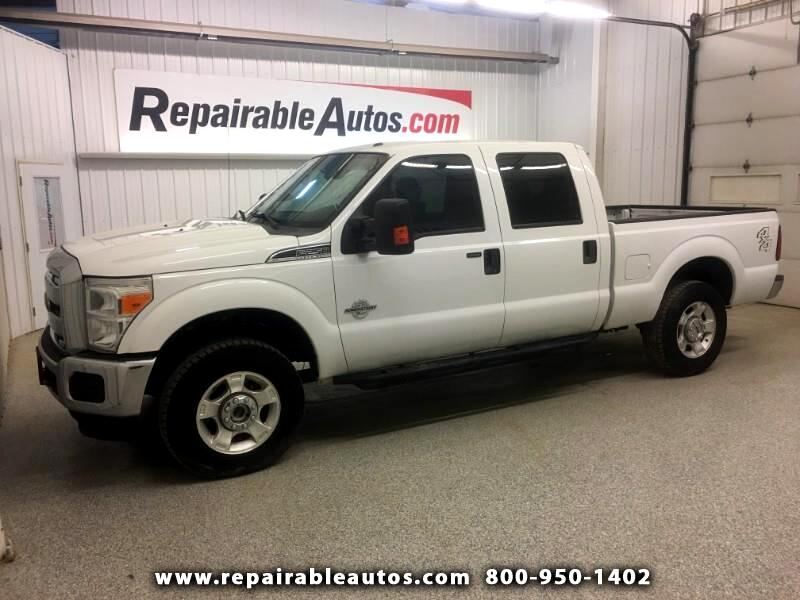 2015 Ford F-250 SD XLT Repairable Interior Fire Damage