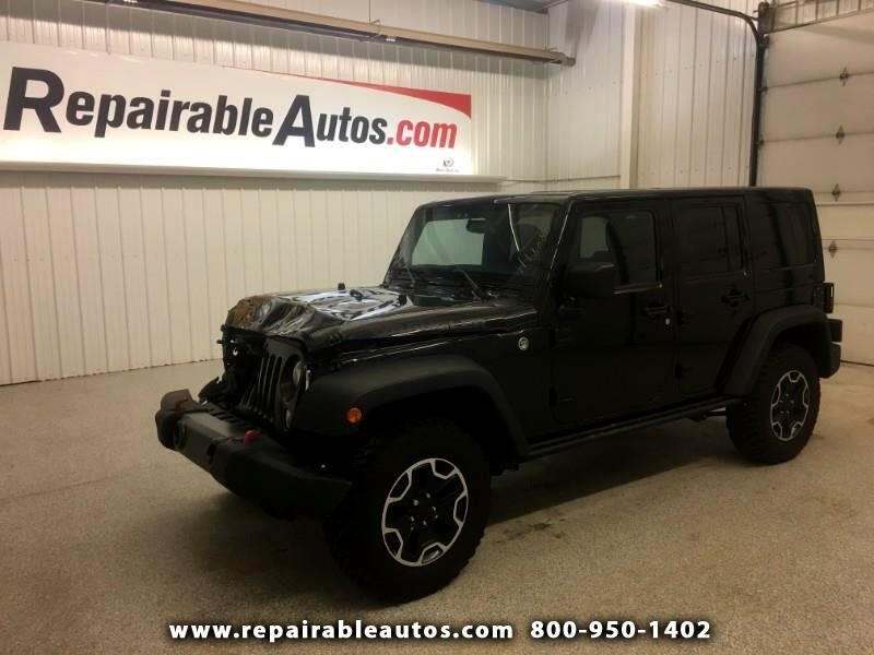 2016 Jeep Wrangler Unlimited 4WD Repairable Front Damage