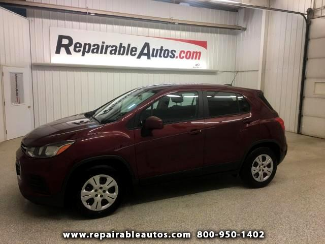 2017 Chevrolet Trax FWD Repairable Water Damage