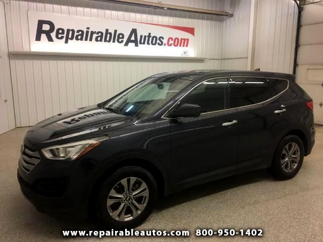 2016 Hyundai Santa Fe AWD Sport Repairable Rear Damage
