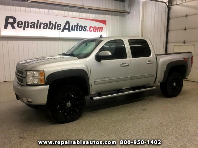 2013 Chevrolet Silverado 1500 4WD Repairable Rear Damage