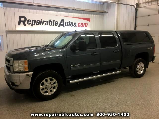 2012 Chevrolet Silverado 2500HD LTZ4WD Repairable Side Damage