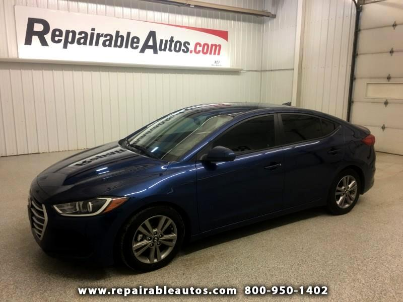 2017 Hyundai Elantra Repairable Side Damage