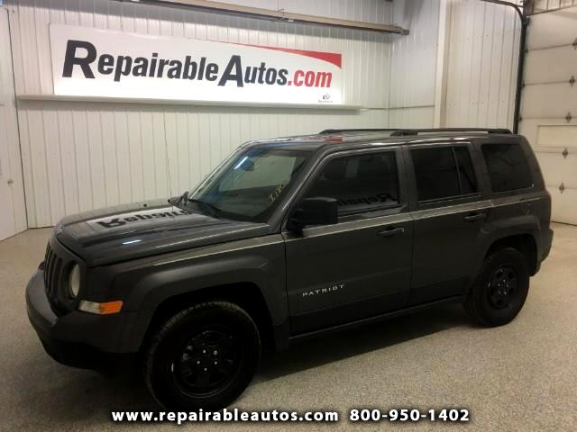 2017 Jeep Patriot FWD Repairable Theft Damage