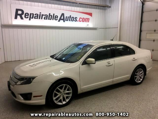 2012 Ford Fusion SEL Repairable Hail Damage