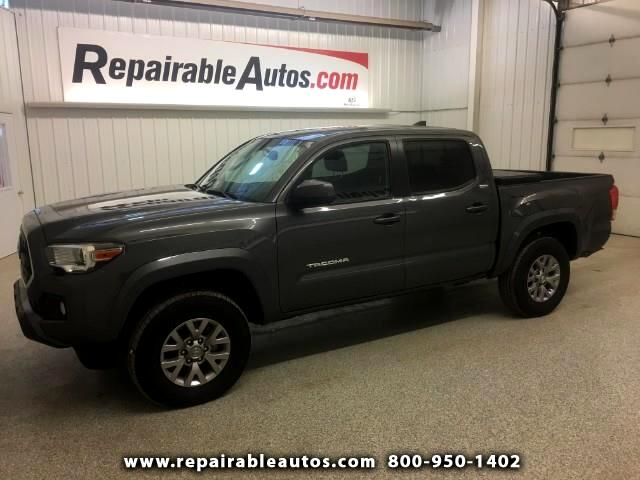 2017 Toyota Tacoma SR5 4WD Repairable Rear Damage