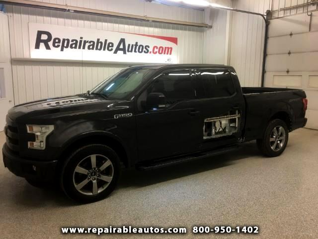 2015 Ford F-150 Sport 2WD Repairable Side Damage
