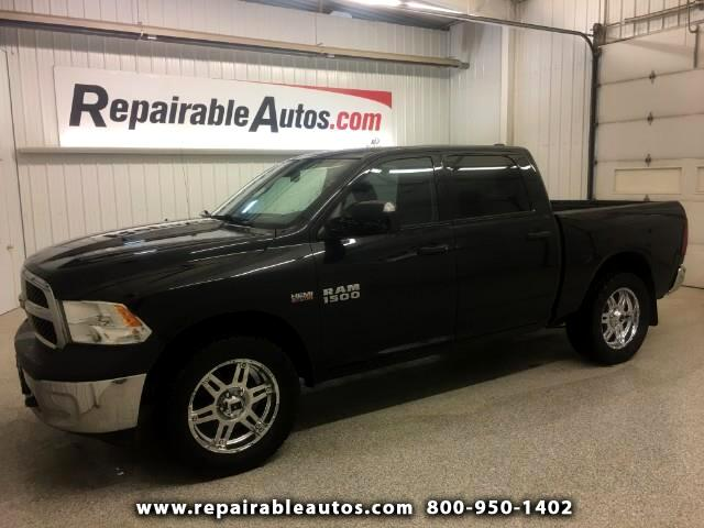 2015 RAM 1500 4WD Repairable Rear Damage