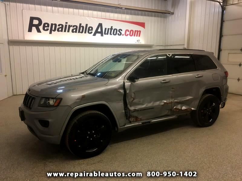 2015 Jeep Grand Cherokee Laredo 4WD Repairable Side Damage