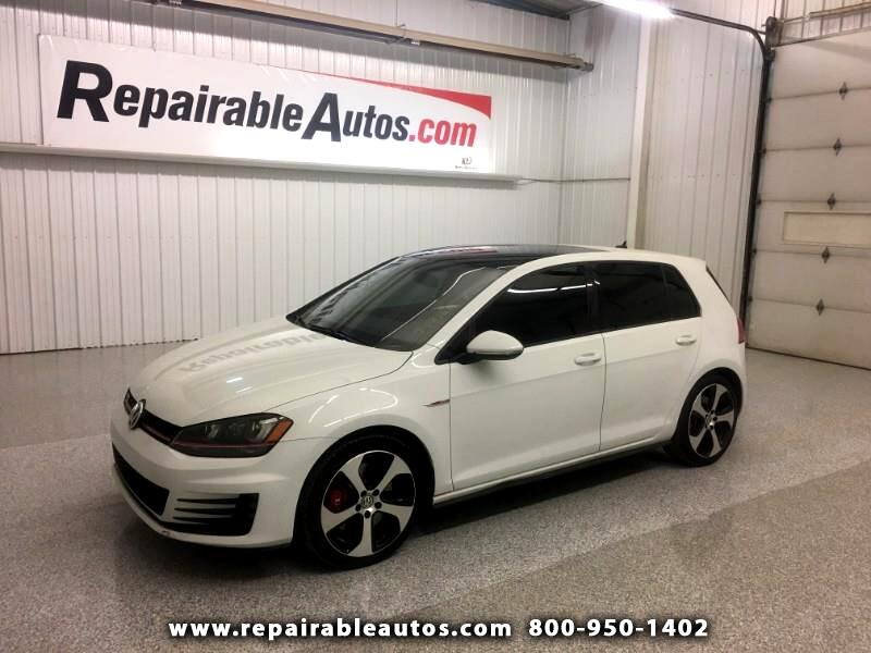 2017 Volkswagen Golf GTI Repairable Water Damage