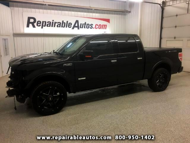 2014 Ford F-150 Limited 4WD Repairable Front Damage